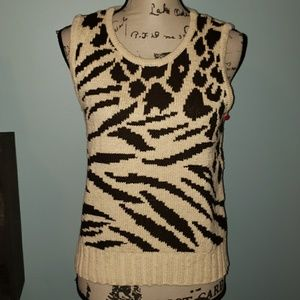 New Liz Claiborne Lizsport Petite Sweater Vest